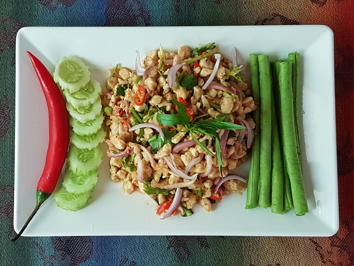 Larb Moo Thai Pork Salad