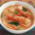Tom Yam Shrimps