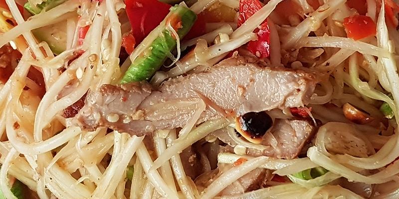 Papaya Pork Salad