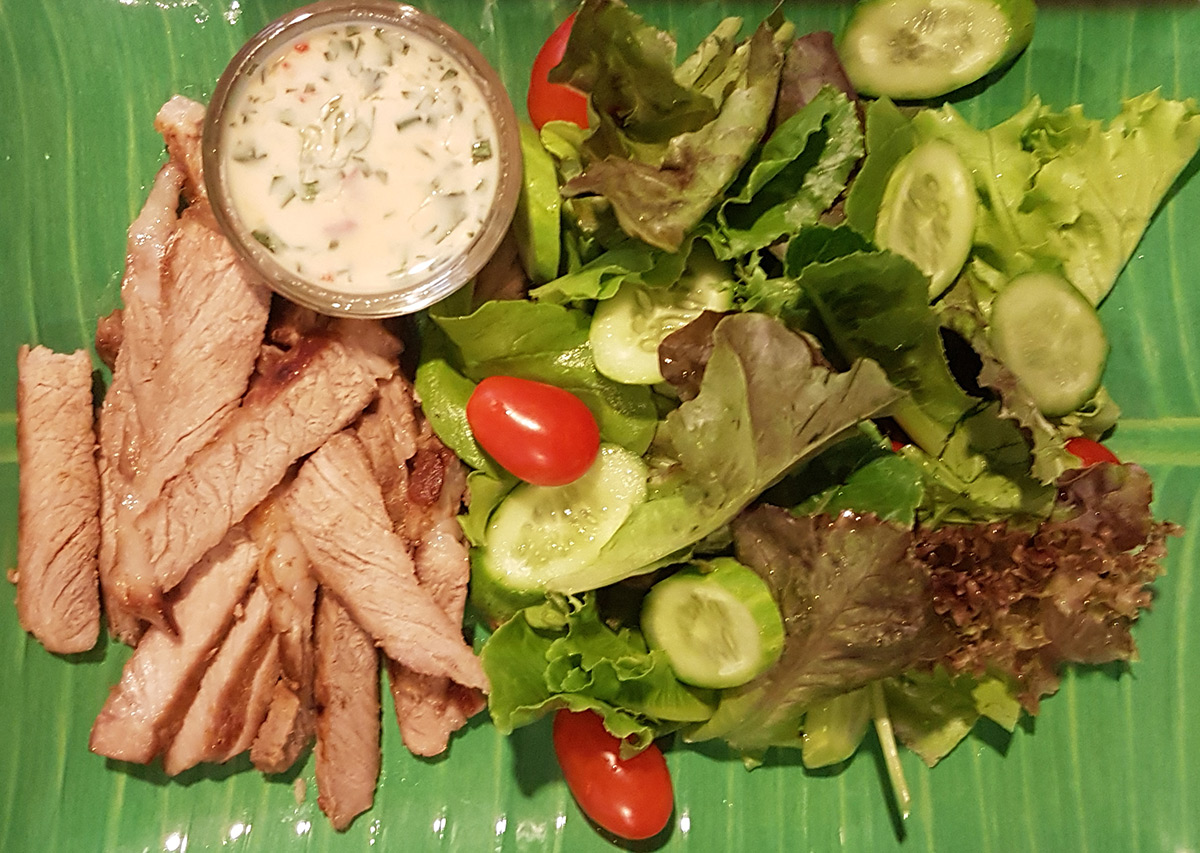 Salad with Spicy Dressing
