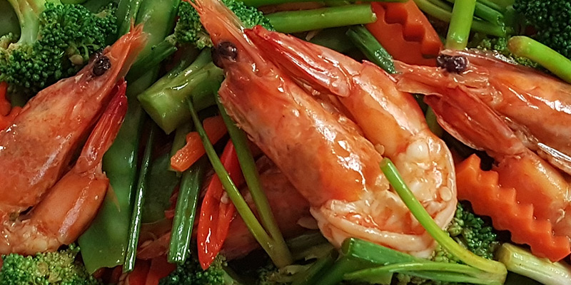 Stirfry Vegetable Shrimps