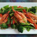 Thai Stir-fry Shrimps