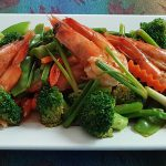 Thai Veggie Shrimps