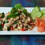 Spicy Mushroom Salad