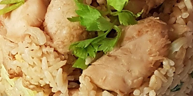 Thai Fried Chicken Rice