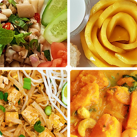 Thai Vegan Dishes