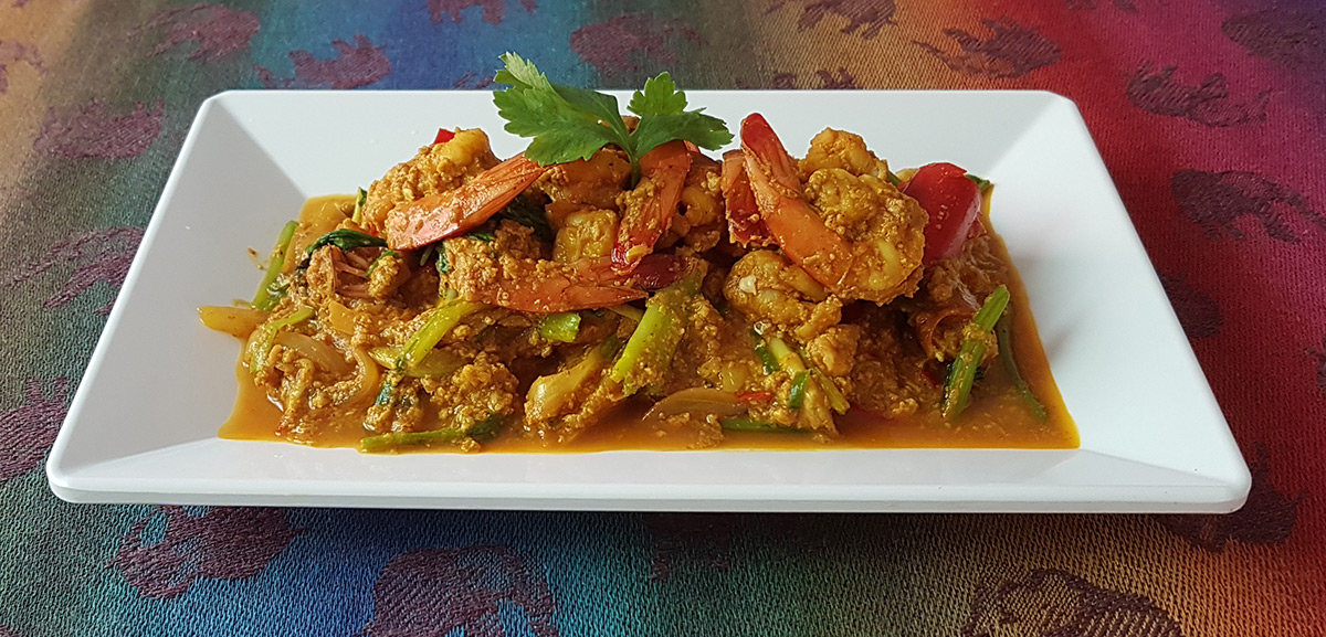 Thai Curry Shrimp
