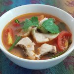 Hot Sour Thai Fish Soup