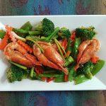 prawn veggies