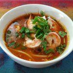 tom yam noodle soup