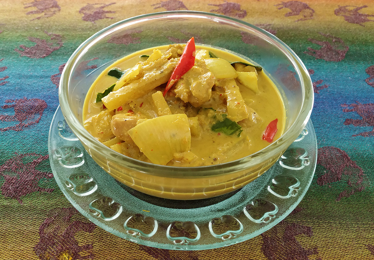 Thai Yellow Curry Chicken