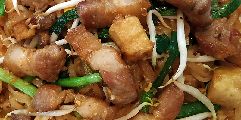 pad thai pork belly