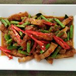 Stir Fried Red Curry