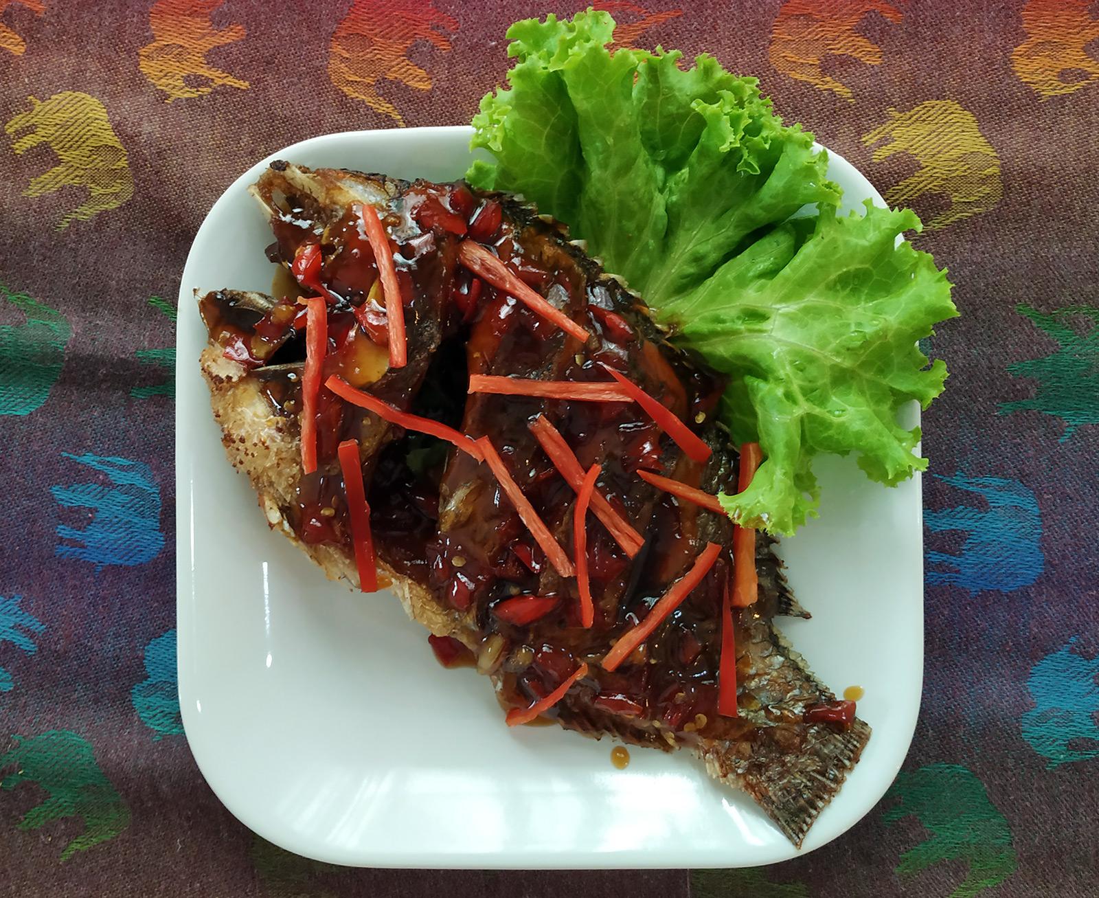 Crispy Chili Fish