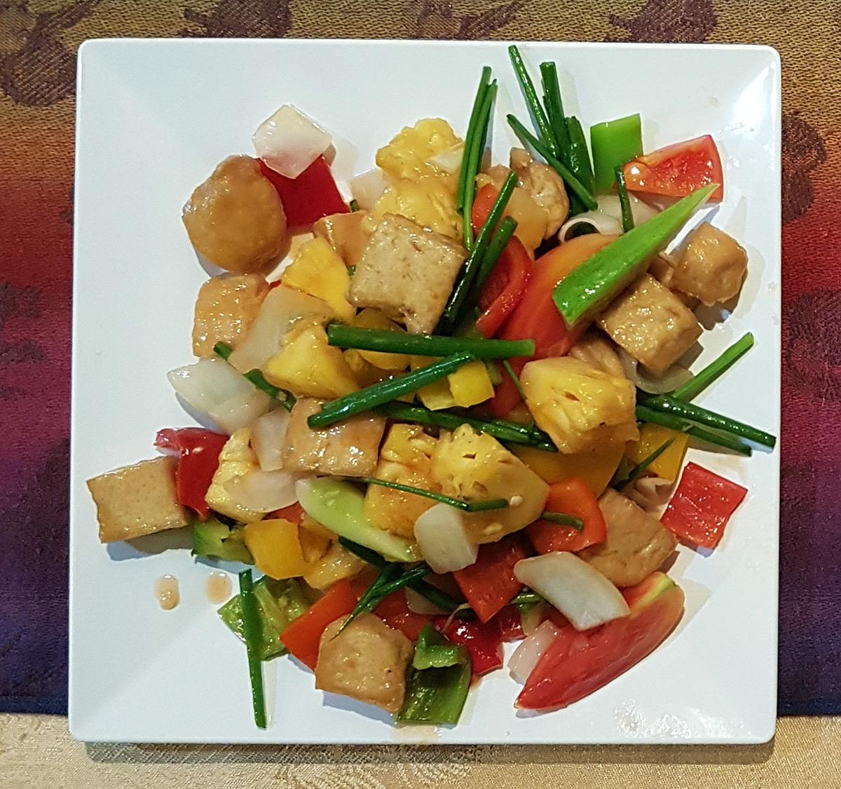 Pad Priew Wan Tofu