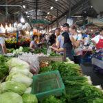 Thai Vegetables Market