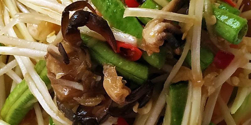 Isaan Papaya Salad