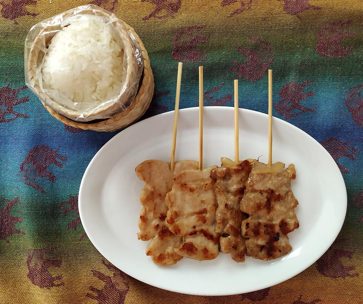 Thai Pork Skewers