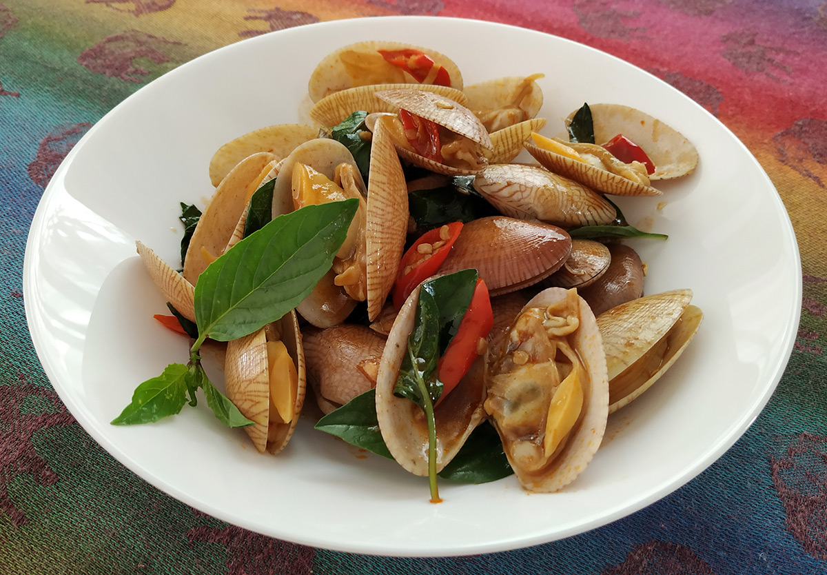 chili clams thai