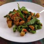 Stir Fry Basil Tofu