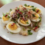 Thai spicy egg salad