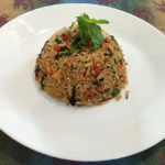 Vegan Basil Fried Rice