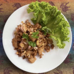 Thai garlic pepper pork