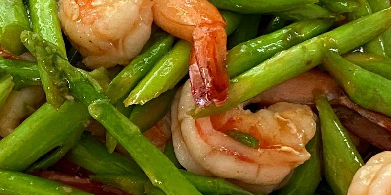 Thai Shrimp Asparagus