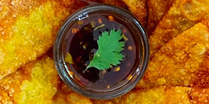 crispy wonton chips
