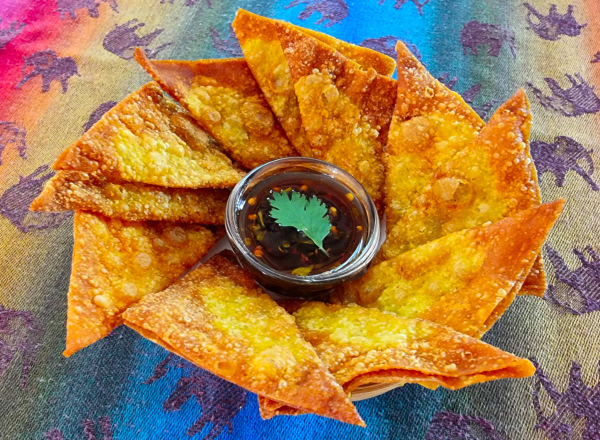 fried wonton chips