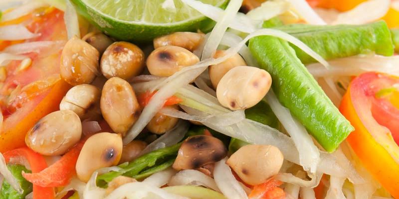 thai vegan food class